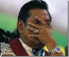 Sri Lanka president loses