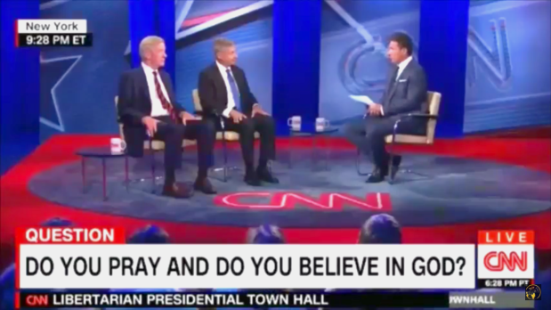 Why is CNN Asking Presidential Candidates if They Believe in God?